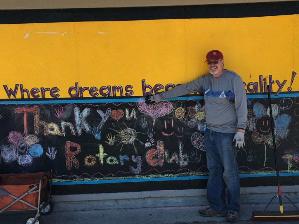 Rotary Club brings campus improvements